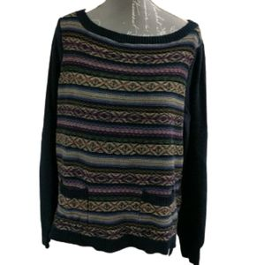 Chaps petite pullover knit sweater